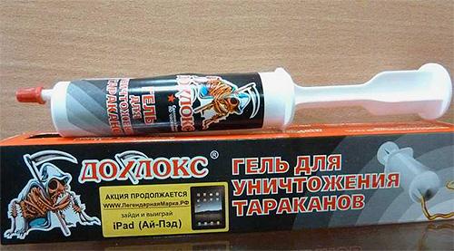 Gel do scarafaggio Dohlox