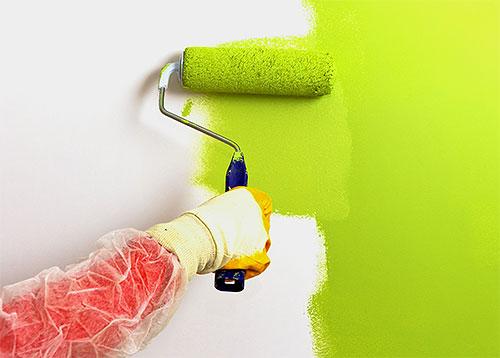 Le pulci hanno anche paura degli odori acuti, compreso l'odore della vernice fresca.