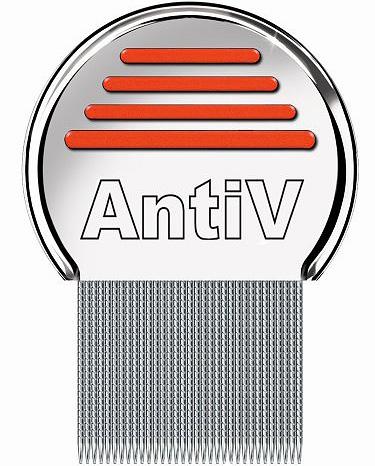 Il pettine AntiV è ottimo per rimuovere i pidocchi nelle persone con capelli lunghi e folti.