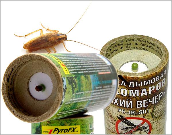 Scopriamo le caratteristiche dell'uso di fumogeni insetticidi nella lotta contro gli scarafaggi in un appartamento o in un'altra stanza chiusa ...