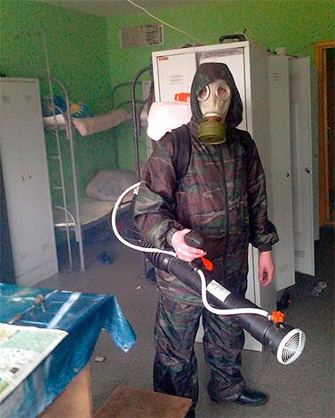 Chiamare un servizio di controllo dei parassiti è circa 10 volte più costoso di uccidere gli scarafaggi con una bomba fumogena.
