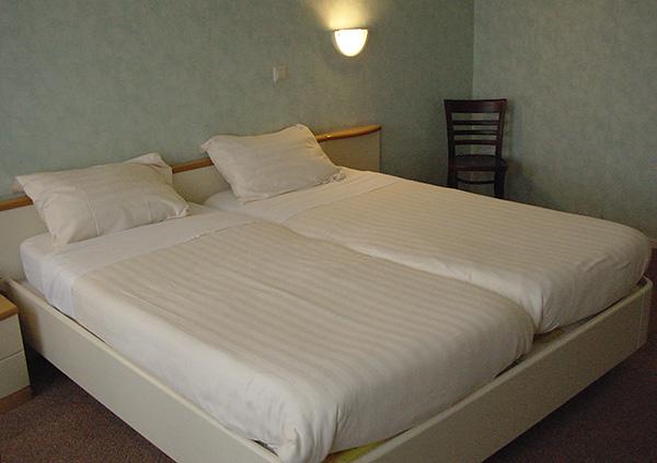 I parassiti possono essere ritirati in hotel economici.