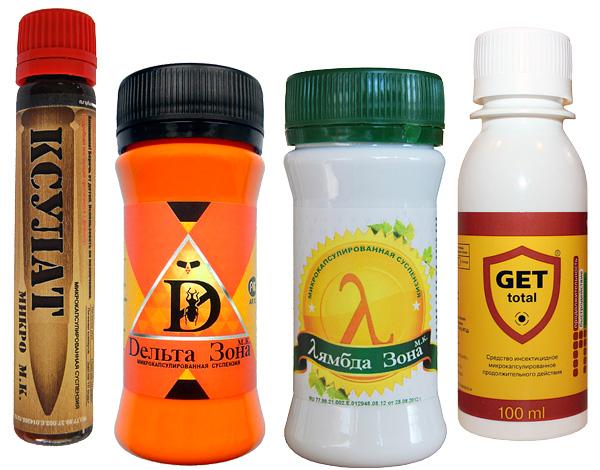 Insetto repellente microincapsulato a basso odore.