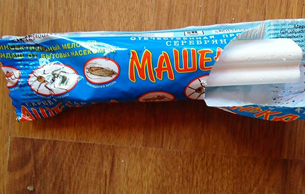 Matita insetticida Masha è piuttosto efficace dalle cimici dei letti.