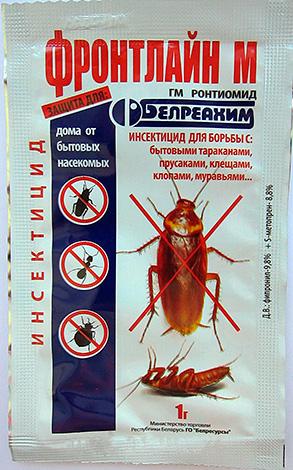 Front Line M - polvere per combattere scarafaggi, formiche domestiche, acari e cimici.