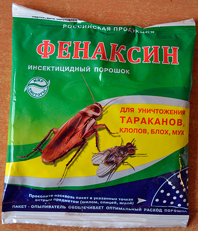 Fenaxina in polvere insetticida