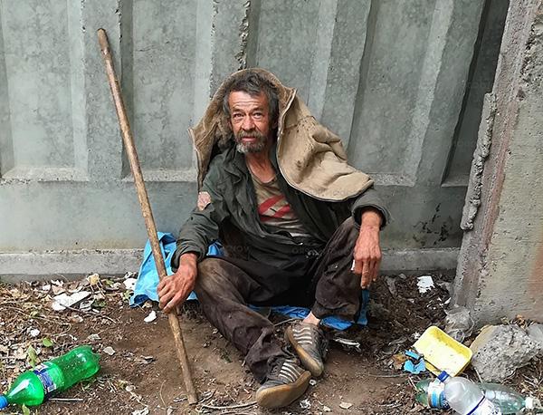 Spesso i pidocchi del bucato si trovano nei senzatetto.